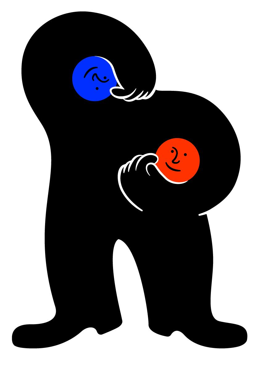 illustrazione di Dario Volpe sul tema della politica
