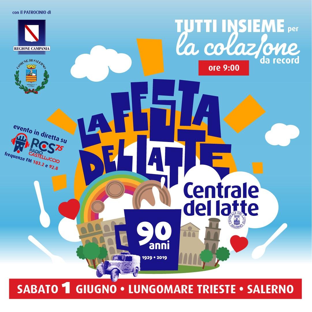 la Festa del Latte della Centrale del Latte di Salerno