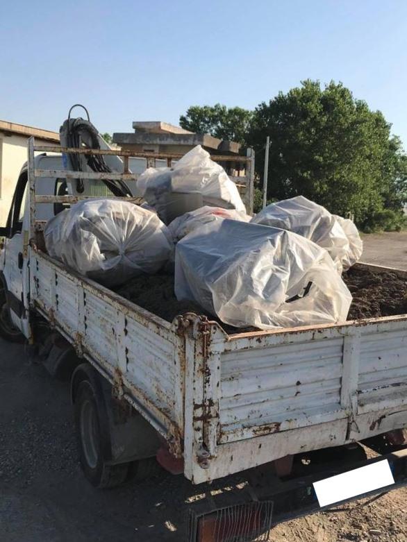 pontecagnano sversamento rifiuti avellino
